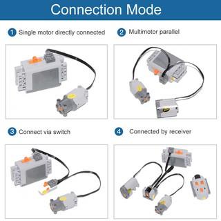 💞BULA Medium Motor Block Parts – Compatible with LEGO 8883 Motors