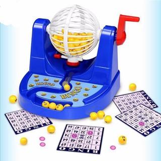 [ĐỒ CHƠI TẾT] Bộ đồ chơi lô tô 90 số Bingo Machine loại nhỏ