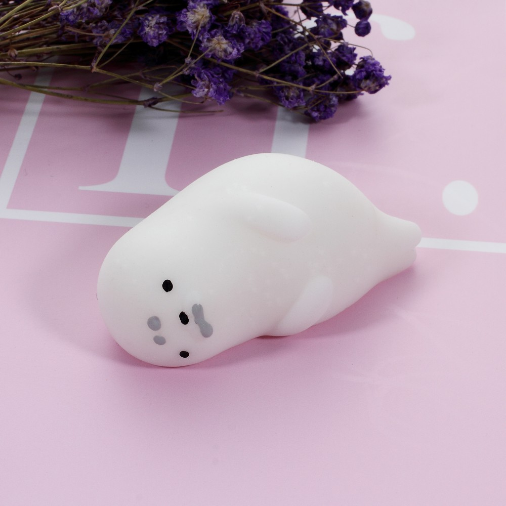 Soft Silicone Squishy Toy Squish Squeeze Hand Fidget Toy - Cute Cloud, Size: 5 x 3.3cm