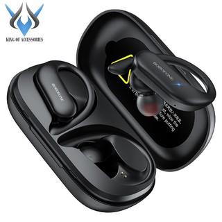 Tai nghe Bluetooth TWS Borofone BE33 Rhyme BT V5.0 (Đen)