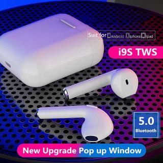 Tai nghe không dây bluetooth 5.0 nhét tai i9s TWS âm thanh trầm nổi cao cấp dành cho iPhone Android Xiaomi