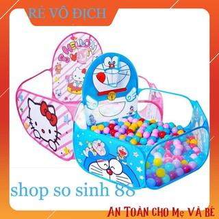 {GÍA SẬP SÀN} Nhà Bóng Lều Bóng Tặng Kèm 100 Quả Bóng Nhựa Cho Bé