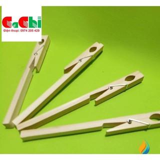 kẹp ống nghiệm gỗ – dụng cụ thí nghiệm