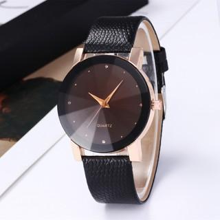 Đồng hồ cặp đôi nam nữ dây da độc đáo siêu đẹp DH96 thumbnail