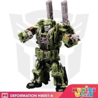 Đồ chơi mô hình BMB H6001-6 Hero Hound lắp ráp chuyển đổi mô hình Transformer