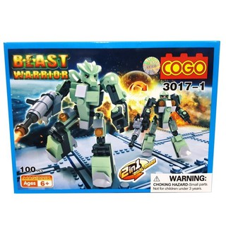 COGO – ROBOT – BEAST WARRIORS (3017-1-3)