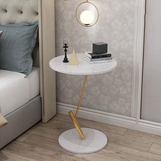 Bàn trà nghệ thuật trắng kệ đầu giường trang trí nội thất phòng ngủ phòng khách nhà cửa căn hộ khách sạn