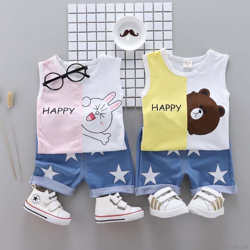 Bộ áo sát nách + quần ngắn in họa tiết hoạt hình cho bé trai - 15011840 , 2458764318 , 322_2458764318 , 142000 , Bo-ao-sat-nach-quan-ngan-in-hoa-tiet-hoat-hinh-cho-be-trai-322_2458764318 , shopee.vn , Bộ áo sát nách + quần ngắn in họa tiết hoạt hình cho bé trai