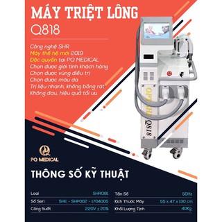 Máy Triệt Lông Opt Shr Q818