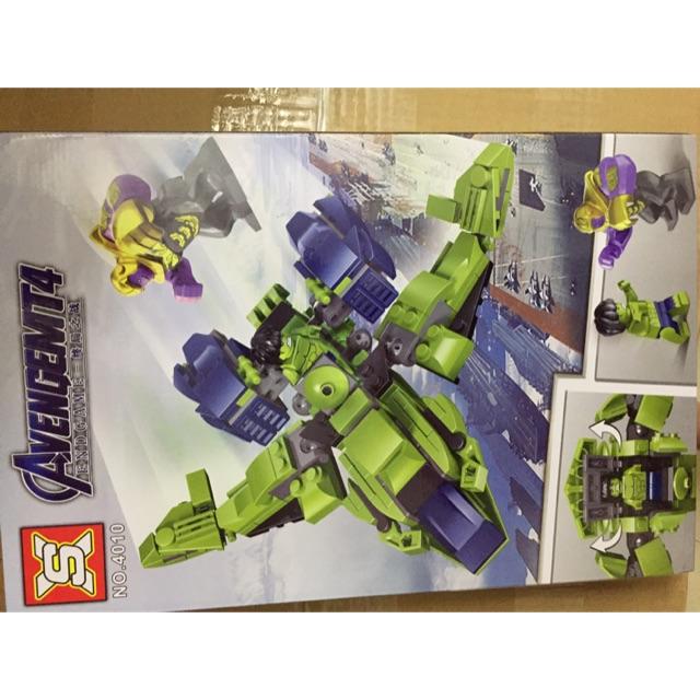 Lego ghép hình avenger biệt đội anh hùng