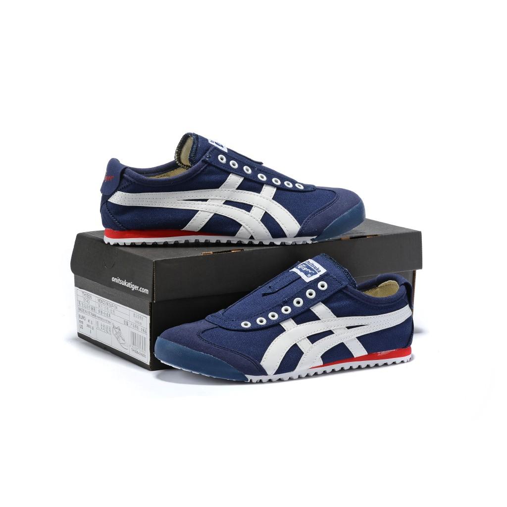 Original Asics tiger Canvas shoes flatshoes running shoes for men/women fashion197