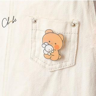 Huy hiệu cài áo Choobe đáng yêu, pin cài balo, xinh xắn, dễ thương, nhiều mẫu đẹp, ngộ nghĩnh