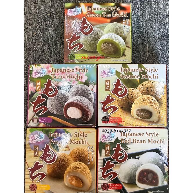 Combo 5 hộp Bánh Mochi YUKI&LOVE 140g (Hộp 4 bánh) - 3240757 , 523143057 , 322_523143057 , 200000 , Combo-5-hop-Banh-Mochi-YUKILOVE-140g-Hop-4-banh-322_523143057 , shopee.vn , Combo 5 hộp Bánh Mochi YUKI&LOVE 140g (Hộp 4 bánh)