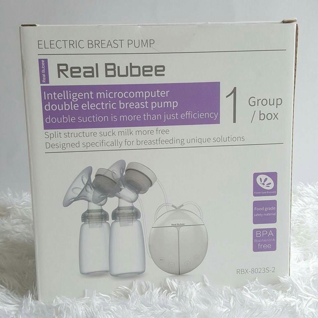Máy hút sữa điện đôi Real Bubee (Có chế độ massa kích sữa, Hút êm ái như em bé bú) - 3386301 , 625671813 , 322_625671813 , 275000 , May-hut-sua-dien-doi-Real-Bubee-Co-che-do-massa-kich-sua-Hut-em-ai-nhu-em-be-bu-322_625671813 , shopee.vn , Máy hút sữa điện đôi Real Bubee (Có chế độ massa kích sữa, Hút êm ái như em bé bú)