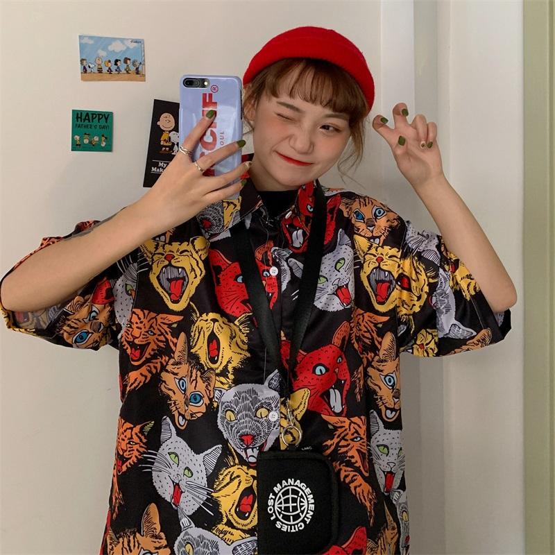 áo sơ mi Polo In Hình cao cấp kiểu dáng Hàn Quốc không nhăn  Unisex