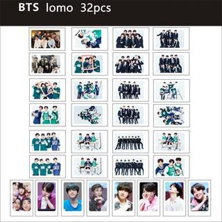Mới! BTS LOMO 30pcs, năm clip + dây