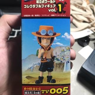 Mô hình Wcf One Piece Portgas D. Ace vol. 1 chính hãng Banpresto