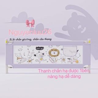 [ Hàng Nâng Cấp ] Thanh Chắn Giường cho bé Babyqiner bản nâng cấp hạ 1 bên