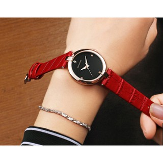 Đồng hồ nữ SANDA Nhật Bản P196 - Đính Kim Cương Nhân Tạo