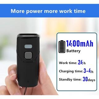 ivn074 máy quét mã vạch mini bỏ túi bluetooth và wireless 2.4g ccd nhỏ gọn 1D