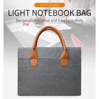 Túi xách đựng Laptop chống thấm nước phong cách doanh nhân thời trang cho Macbook M1 Air Pro 13 14 15 Inches 13 15