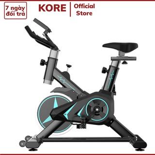 Xe đạp thể dục KoreT86 tại nhà xe đạp tập gym từ tính động cơ im lặng gấp gọn tiện lợi thumbnail