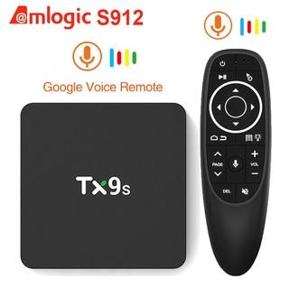 TX9s Android Tivi Box Amlogic S912 2GB 8GB 4K 60fps Android TV Box 2.4G Wifi 1000M Netflix Youtube media player Set-Top Box