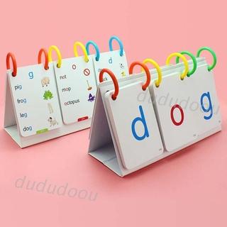 66Pcs Kids Sight Words Phonics Alphabets Flashcards Calendar Learning Education