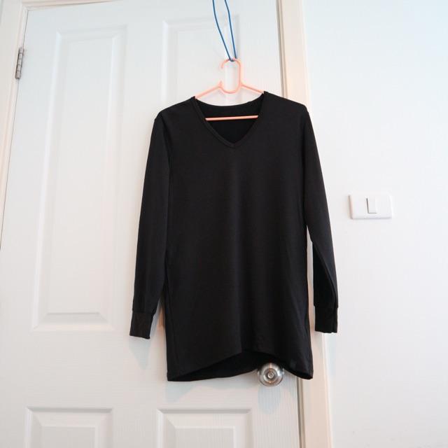 เสื้อ uniqlo heattech extra warm M-ฮีทเทค ยูนิโคล่ (ชาย)