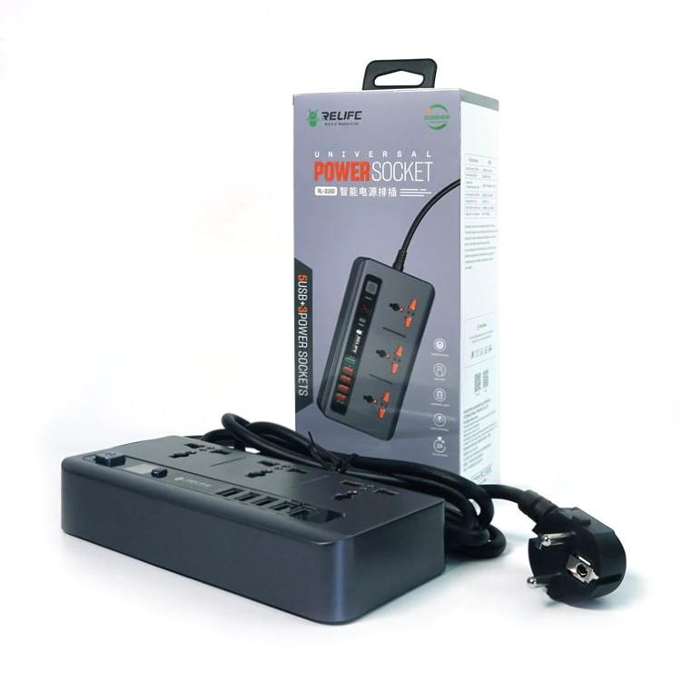 Bộ sạc đa năng RL-316D tích hợp 3 ổ điện AC nối dài