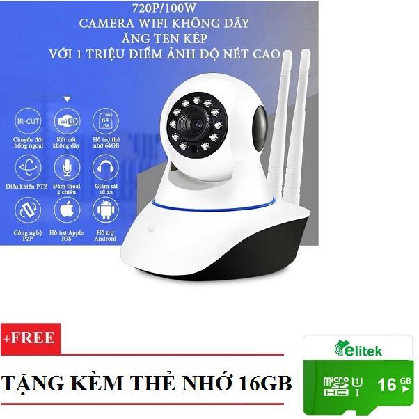 Camera giám sát và báo động PK11 + Thẻ 16GB