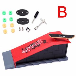 💗Sunei💗Mini Skate Park Ramp Parts For Tech Deck Fingerboard Finger Skateboard Ultimate