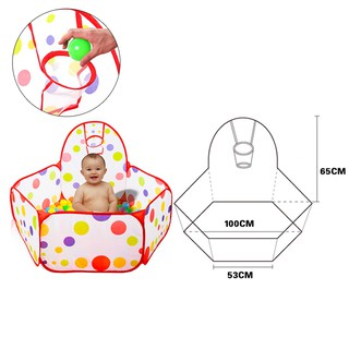 Ball folding tents for baby