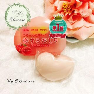 Xà phòng giảm thâm mông Pelican Hip Care Soap của Nhật Bản 80g