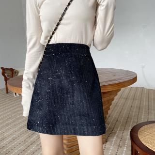Yêu Thích[Mã CBS2911B hoàn 15% tối đa 30K xu đơn 120K] Chân váy ngắn lưng cao thời trang Hàn Quốc dành cho bạn nữ