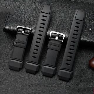 Dây Đeo Thay Thế Cho Đồng Hồ Casio Prg-260 / 550 / 250 / Prg500 Prw-3500 / 2500 / 5100 18mm