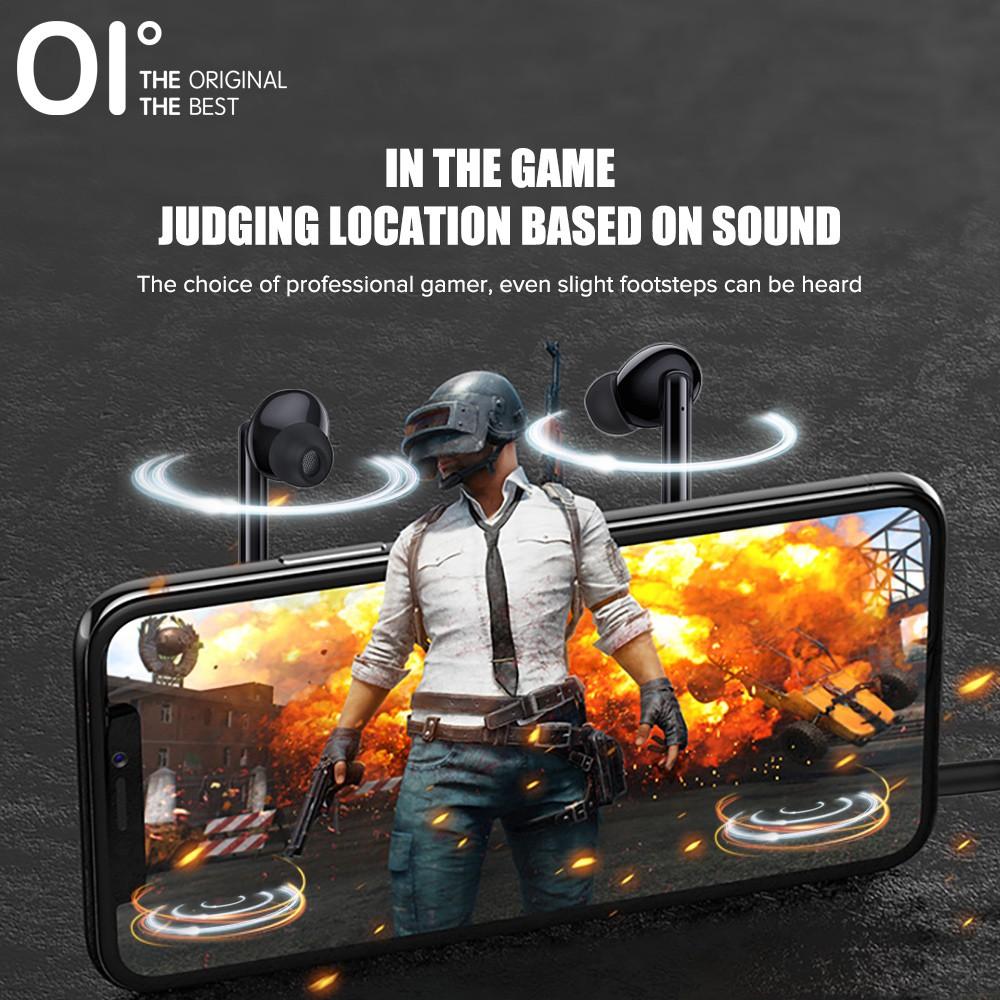 Tai nghe nhét tai OI J7 có dây chống tiếng ồn âm thanh HIFI có mic HD
