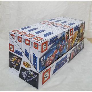 BỘ LEGO SIÊU RÔBOT ĐẠI CHIẾN ( gồm 7 mô hình khác nhau), MÃ SY6399