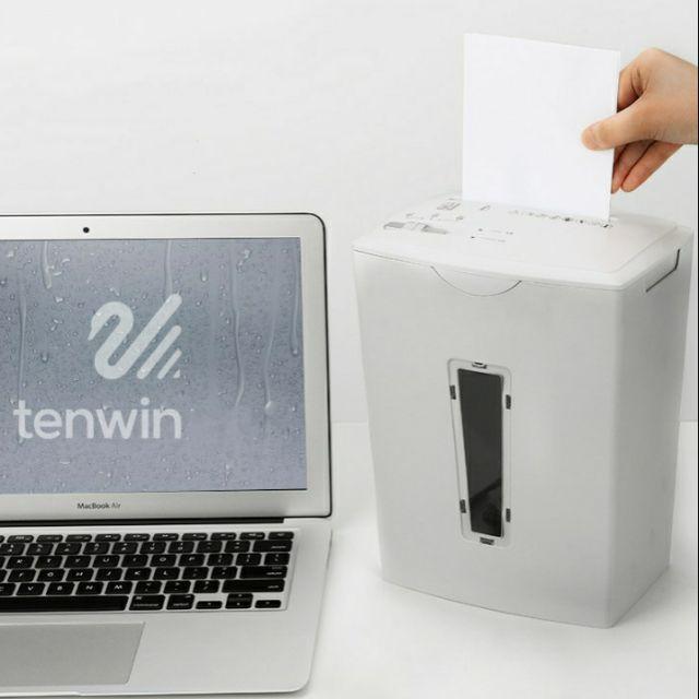 Máy hủy giấy tài liệu cao cấp Tenwin - Best Seller Tont