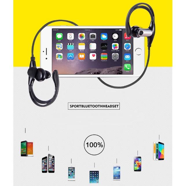 Tai nghe Bluetooth SPORT WIRELESS EARPHONE cao cấp kháng nước