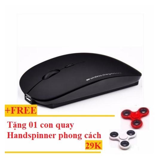 Chuột không dây tự sạc pin cao cấp N5 mới (đen) + Tặng con quay giải tỏa áp lực Handspinner phong cá - 2999504 , 445327658 , 322_445327658 , 150000 , Chuot-khong-day-tu-sac-pin-cao-cap-N5-moi-den-Tang-con-quay-giai-toa-ap-luc-Handspinner-phong-ca-322_445327658 , shopee.vn , Chuột không dây tự sạc pin cao cấp N5 mới (đen) + Tặng con quay giải tỏa áp lự