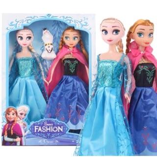 ❄️❄️ Set 2 Búp Bê Frozen Elsa + Anna + Olaf + Phụ Kiện ❄️❄️