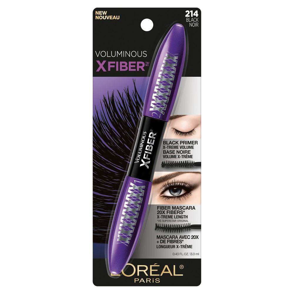 Mascara Hai Đầu L'Oréal Paris Makeup Voluminous X Fiber Waterproof