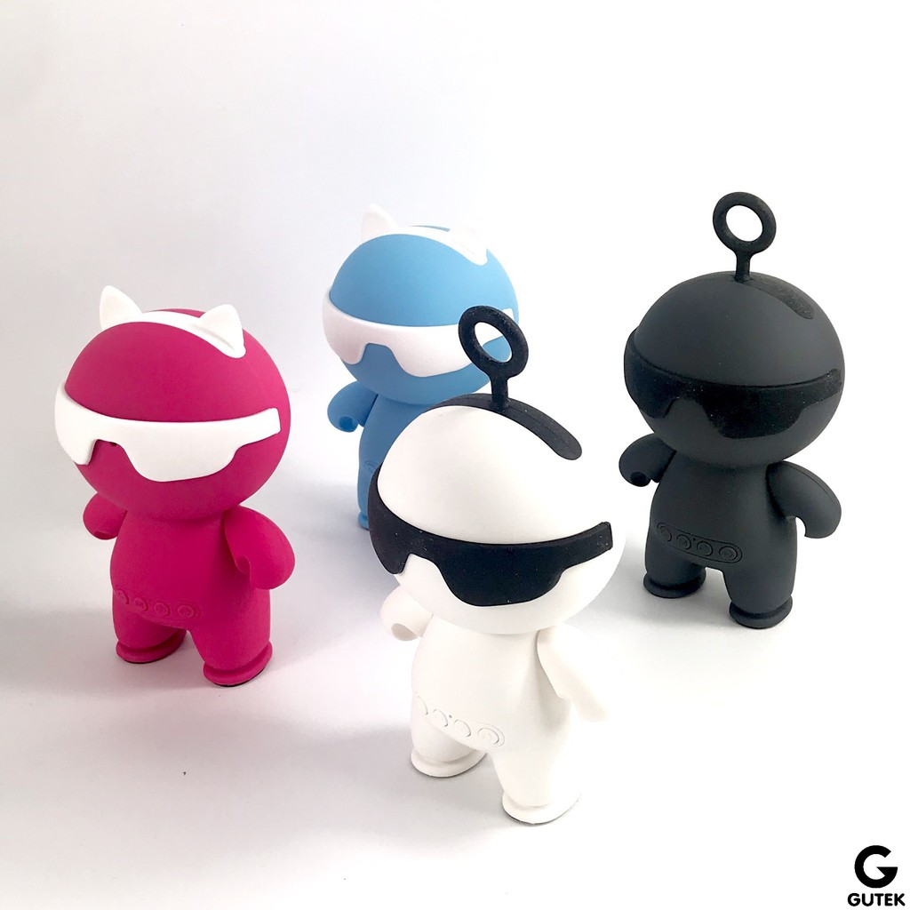 Loa Bluetooth Nghe Nhạc Mini Không Dây Hình Robot Bighero Gutek KC-N1 Âm Thanh Sống Động
