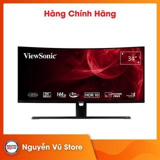 Màn hình cong Gaming ViewSonic VX3418-2KPC 34 2K 144Hz - Hàng Chính hãng thumbnail