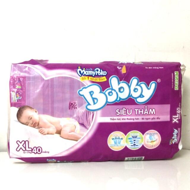 Tả dán siêu thấm Bobby size XL40 (12-17kg) - 3318539 , 732063058 , 322_732063058 , 170000 , Ta-dan-sieu-tham-Bobby-size-XL40-12-17kg-322_732063058 , shopee.vn , Tả dán siêu thấm Bobby size XL40 (12-17kg)