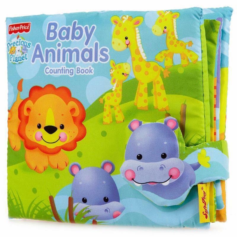 SÁCH VẢI BABY ANIMAL (Cho bé tập đếp từ 1 đến 10)