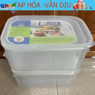 Bộ 3 Hộp đựng thực phẩm cao cấp Việt Nhật L.508 ✅còn hàng ✅ tạp hóa Văn Dịu