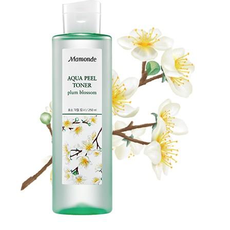 Nước hoa hồng Mamonde Aqua Peel Toner Plum Blossom