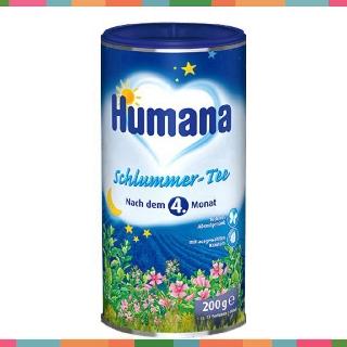 Trà Humana Schlummer 200g (Thảo dược hòa tan giúp ngủ ngon)